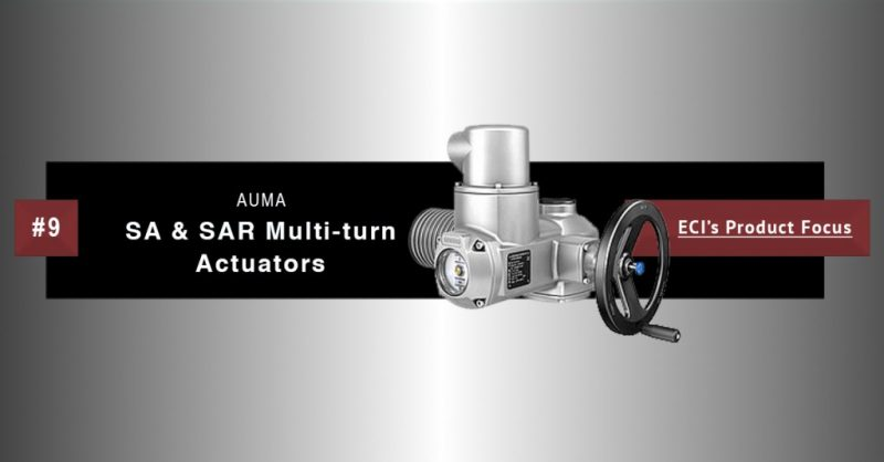 AUMA SA and SAR multi-turn actuators