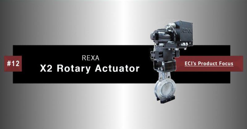 Rexa X2 Rotary Actuator