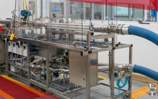 lab flow calibration rig